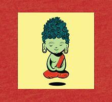 Young Green Buddah Tri-blend T-Shirt