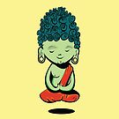 Young Green Buddah by BANDERUS MARTIN