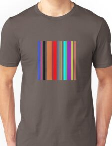 Laideur style Lines color graphic t-shirt  Unisex T-Shirt