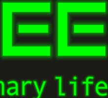 Geek is a binary life Sticker