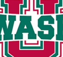 wash u informal logo  Sticker