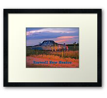 Roswell New Mexico Framed Print