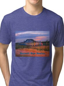 Roswell New Mexico Tri-blend T-Shirt