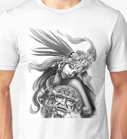 Warrior aztec Unisex T-Shirt