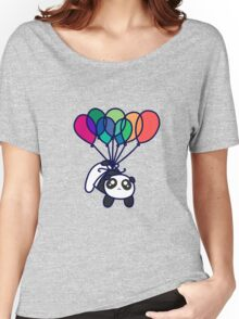 Kawaii Balloon Panda Women's Relaxed Fit T-Shirt