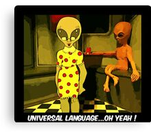 Universal Language Canvas Print