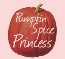 Pumpkin Spice Princess Kids Tee