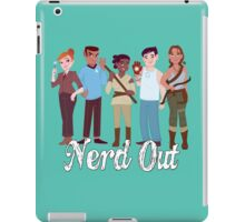 Nerd Out #2 iPad Case/Skin
