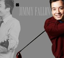Jimmy Fallon Tonight Show Lucky Four Leaf Clover Sticker
