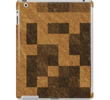 Wood Pixel Blocks  iPad Case/Skin