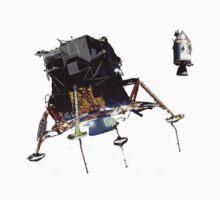 LEM and Apollo 14 One Piece - Short Sleeve