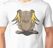 Cute Brown Dragon Unisex T-Shirt