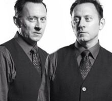 Ben Linus Black and White LOST Sticker