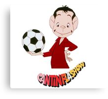 Cantinflas Show - Futbol Canvas Print