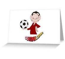 Cantinflas Show - Futbol Greeting Card