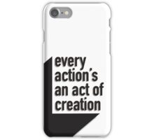 An Act of Creation iPhone Case/Skin