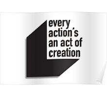 An Act of Creation Poster