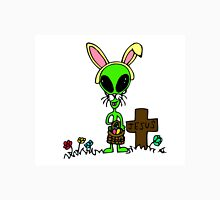 Little Greenie the Alien Discovers Easter! Unisex T-Shirt