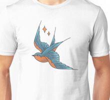 Swallow Tattoo (colour)  Unisex T-Shirt