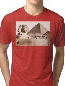 Vintage Photographs and prints of Egypt Tri-blend T-Shirt