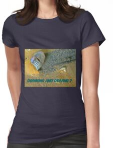 Who Gave the Liquor to the Aliens? Womens Fitted T-Shirt