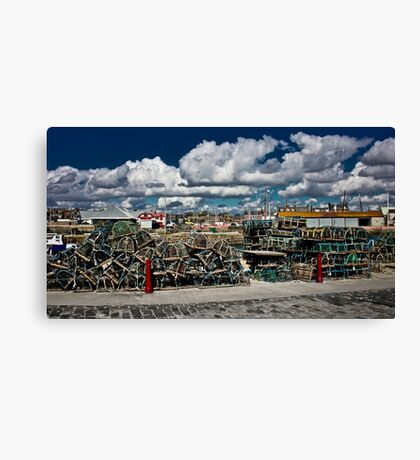 Arbroath Harbour  Canvas Print