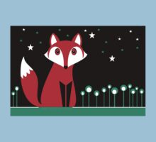 NIGHT FOX Baby Tee