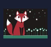 NIGHT FOX Kids Tee