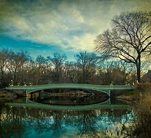 Bow Bridge Reflection by Chris Lord