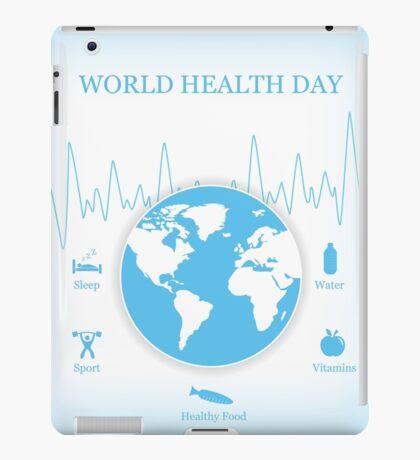 World Health Day  iPad Case/Skin