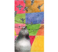 The Pigeoning Photographic Print