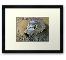 Area Fifty One Framed Print