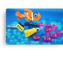 Lego Fish Canvas Print