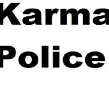 Karma Police Sticker