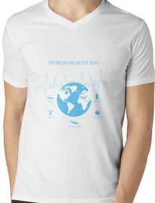 World Health Day  Mens V-Neck T-Shirt