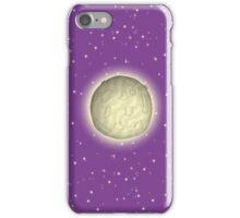Alien Planet With Starry Sky iPhone Case/Skin