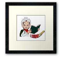 Cantinflas Show - Eiffel Tower Framed Print