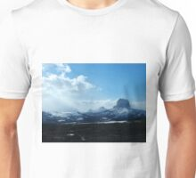 Chief Mountain, Winter Unisex T-Shirt
