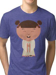 Funny japanese girl Tri-blend T-Shirt