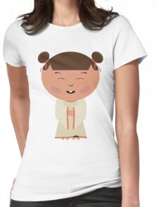 Funny japanese girl Womens Fitted T-Shirt