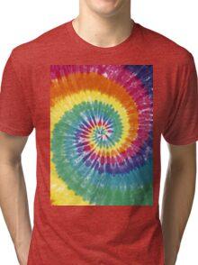 Rainbow Tie Dye Tri-blend T-Shirt
