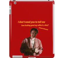 Jimmie Dimmick - Coffee iPad Case/Skin