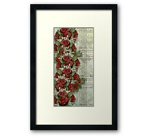 Rose Garland Framed Print