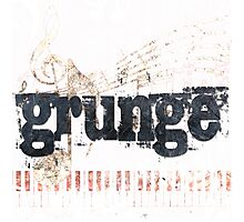 Grunge Photographic Print