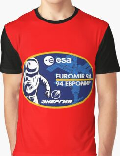 European Euromir (94 mission) Graphic T-Shirt