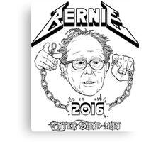 Bernie - Enter Sandman Canvas Print