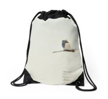 There's A Hero In Every Heron Drawstring Bag