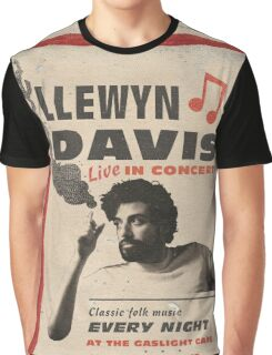 Llewyn Davis Live in Concert Graphic T-Shirt