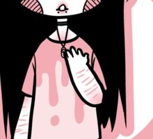 Pink Pastel Goth Sticker
