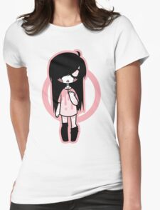 Pink Pastel Goth Womens Fitted T-Shirt